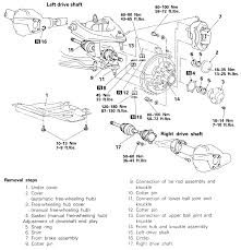 repair guides front drive axle 4 wheel drive vehicles front