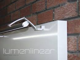 linear led sign lighting spectron launches new led trough light system sign news sign