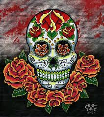 Dia De Los Muertos Home Decor Mandala Flower Tattoo Day Of The Dead Dia De Los Muertos