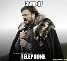 Meme Telephone - game of telephone make a meme