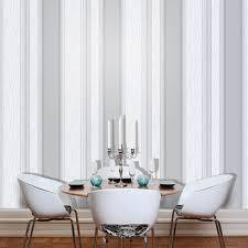vymura synergy dove grey white silver glitter wallpaper stripe