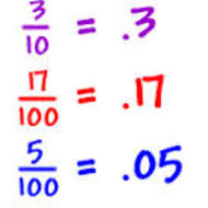converting between fractions and decimals 7 2 lesson 13
