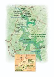 Wv State Parks Map by Ghosts Of The Gorge National Parks Conservation Association