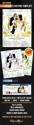wedding flyer wedding flyer psd template cover by elegantflyer