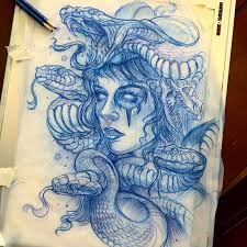best 25 medusa tattoo design ideas on pinterest medusa drawing
