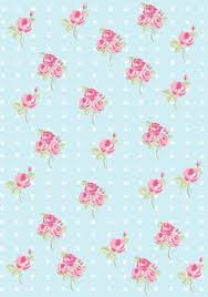 floral shabby chic pattern paper tiffany blue 61dfe5 papeles