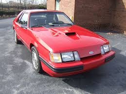 1985 mustang svo classified 1985 svo mustang hagerty articles