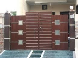 modern gate pillar design also iron main door designs for home in