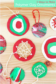 How To Make Homemade Ornaments by Homemade Christmas Ornaments With Polymer Clay Babble Dabble Do
