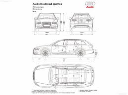 dimension audi a6 audi a6 allroad quattro 2009 picture 16 of 16