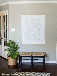Large Wall Decor Ideas For Living Room Diy Large Wall Art For Less Than 20 Art Tutorials Artwork And