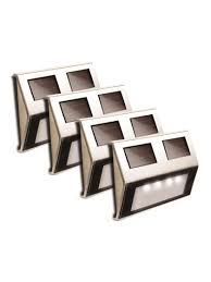 solar deck lights set of 4 solar step lights solar stair lights
