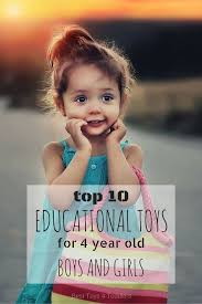 top 10 educational toys for 4 year boys and