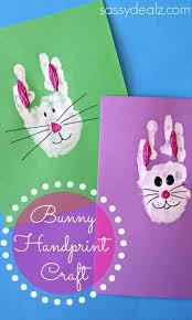 handprint crafts for kids bunny craft u pinterest calendarmaybe