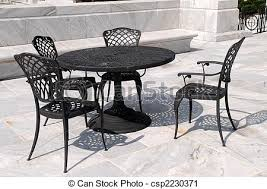 Marble Patio Table Patio Furniture Marble Patio With Wrought Iron Furniture