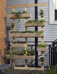 how to build this beautiful herb or strawberry vertical planter