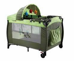 Playard With Changing Table Travel Playard For Baby Playpen With Canopy Portable Cot Travel