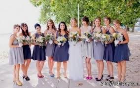 blue gray bridesmaid dresses grey blue bridesmaid dresses 2016 2017 b2b fashion