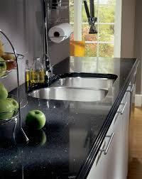 Silestone Stellar Night Kitchen Countertop Remove The Backsplash - Silestone backsplash