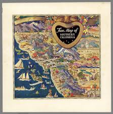 Map Southern California Fun Map Of Southern California All Year Club Of Southern