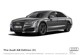 limited edition audi a8 marks 21 years of progress