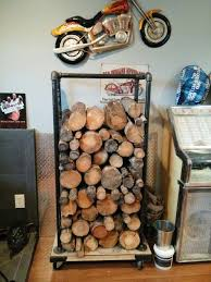 Firewood Storage Rack Plans by Best 25 Industrial Firewood Racks Ideas On Pinterest Firewood