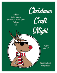 christmas craft night tales from an open book