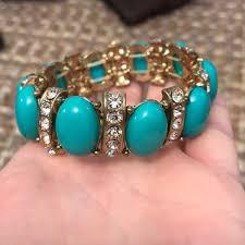 turquoise bracelet images J crew jewelry turquoise bracelet poshmark jpg