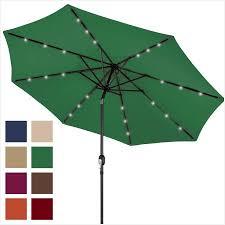 patio umbrella with solar led lights 9 ft patio umbrella with solar lights fresh bcp 10ft deluxe patio