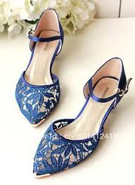 Wedding Shoes Blue Download Blue Wedding Shoes Flats Wedding Corners