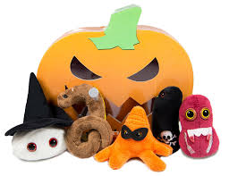 amazon com giant microbes s bx 0004 halloween mini microbe box