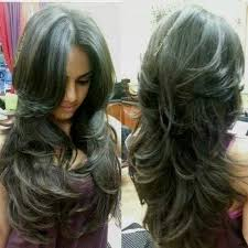 how to cut hair do that sides feather back on lady pictures feather cut for long hair from back side black