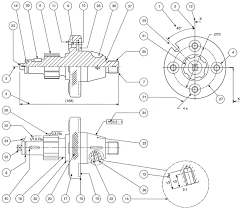 the requirements of machine drawings manufacturing drawings