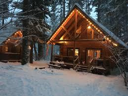 winter cabin sun snow log cabin retreat custom log cabin near suncadia