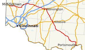 Map Of Southern Ohio by Ohio State Route 73 Wikipedia