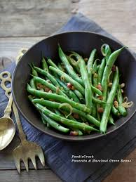 friday faves and pancetta and hazelnut green beans foodiecrush