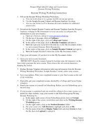 Resume For College Graduate Sample Resume Graduate Sample No Work Experience Intern Resume