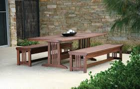 Outdoor Dining Bench Outdoor Dining