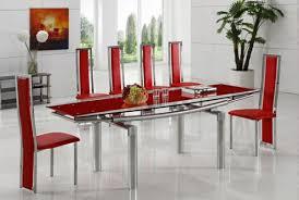 moderne stühle esszimmer rote stühle esszimmer möbelideen