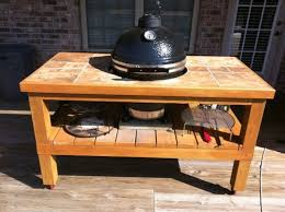 kamado joe grill table plans desperately need help with table design kamado cooking and