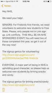 fs nat honor society fs honors twitter