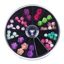 popular 3d acrylic flower nail art buy cheap 3d acrylic flower