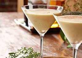 eggnog martini recipe coconut eggnog martini maxim