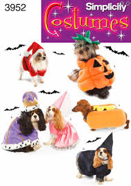DOG Halloween Costume Sewing Pattern Pumpkin Hot Dog Witch King