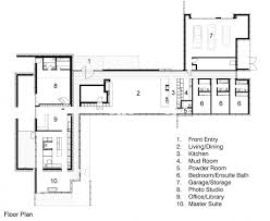 floor plan heavy metal residence missouri by hufft projects