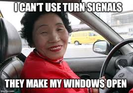Chinese Lady Meme - chinese lady driver imgflip