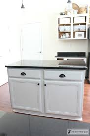 gray kitchen island a beginners guide to painting a kitchen island the crowned goat