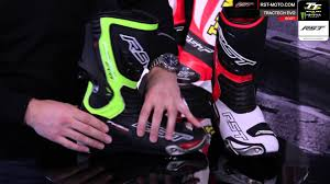 moto racing boots rst tractech evo motorcycle race boot youtube