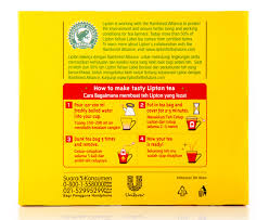 Teh Lipton 2 x lipton yellow label teabags 100pk great daily deals at