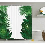 Rainforest Shower Curtain - tropical shower curtains